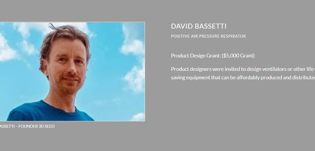 DAVID BASSETTI : POSITIVE AIR PRESSURE RESPIRATOR