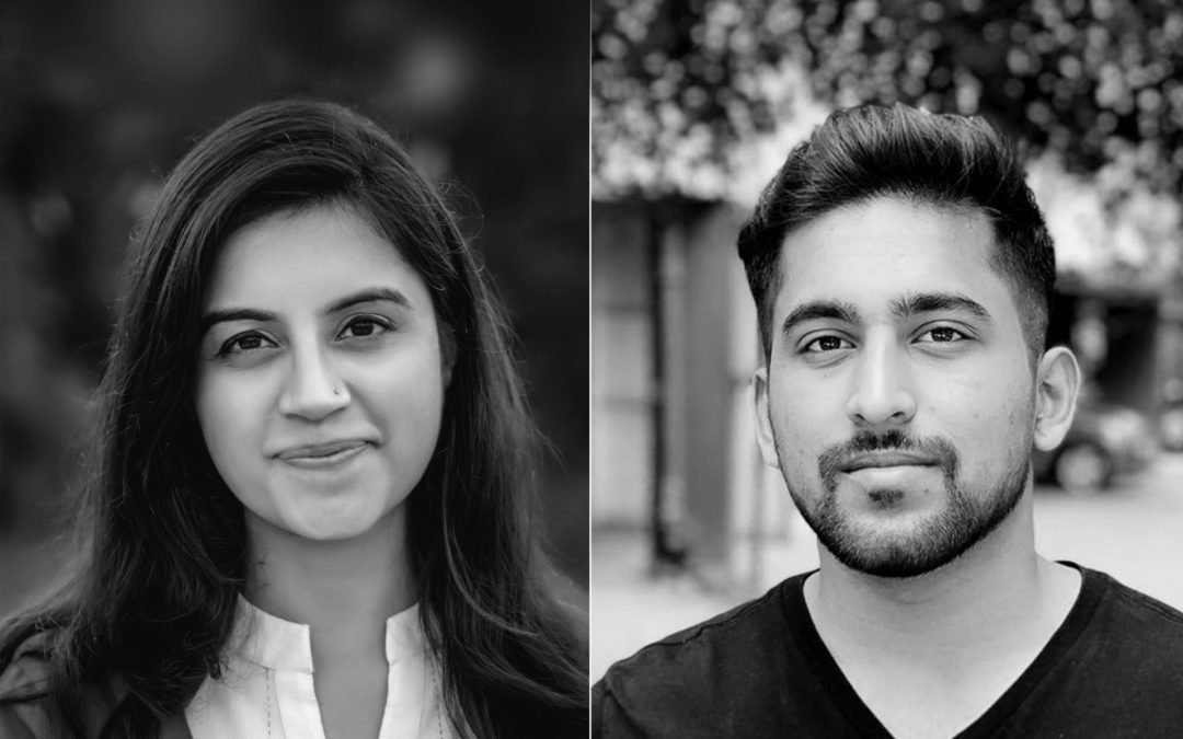 Students at the National Institute of Design, Gandhinagar in India; Neeraj R Jawale and Samriti Gosain talk about their winning project HUE.