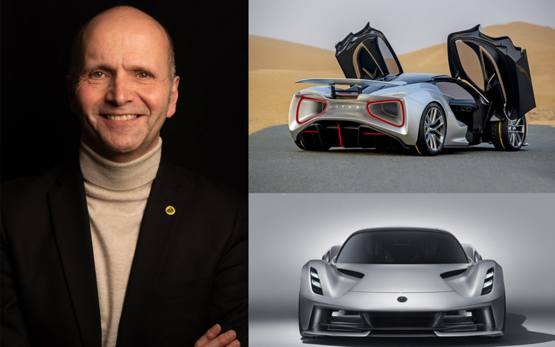 Interview of Russell Carr, IDA Product Design of the Year 2020 for 'Lotus Evija'