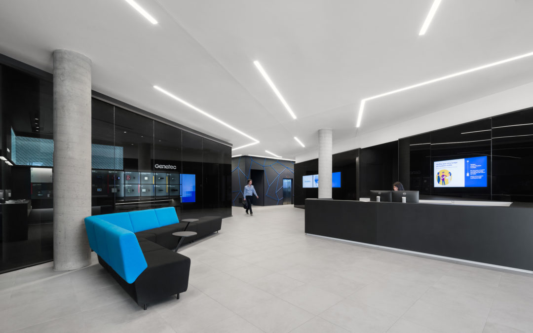 Genetec Spaces in Montreal: When Design Impacts Processes and Productivity