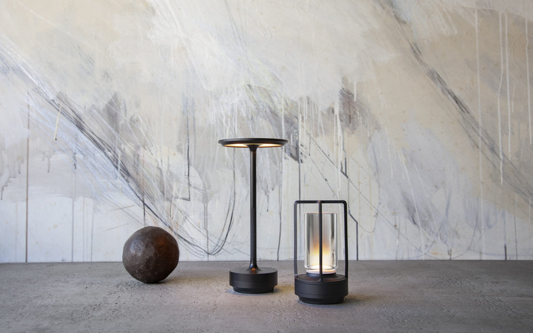 Ambientec's nomadic lamps: gems of design and optical science