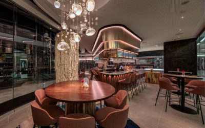 ADesignStudio Custom Lighting For Flying Fish Restaurant, Sydney Australia