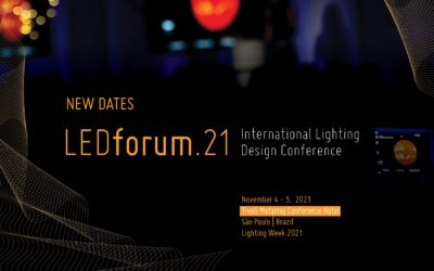 LEDforum.21 postponed to November 4th and 5th, 2021.