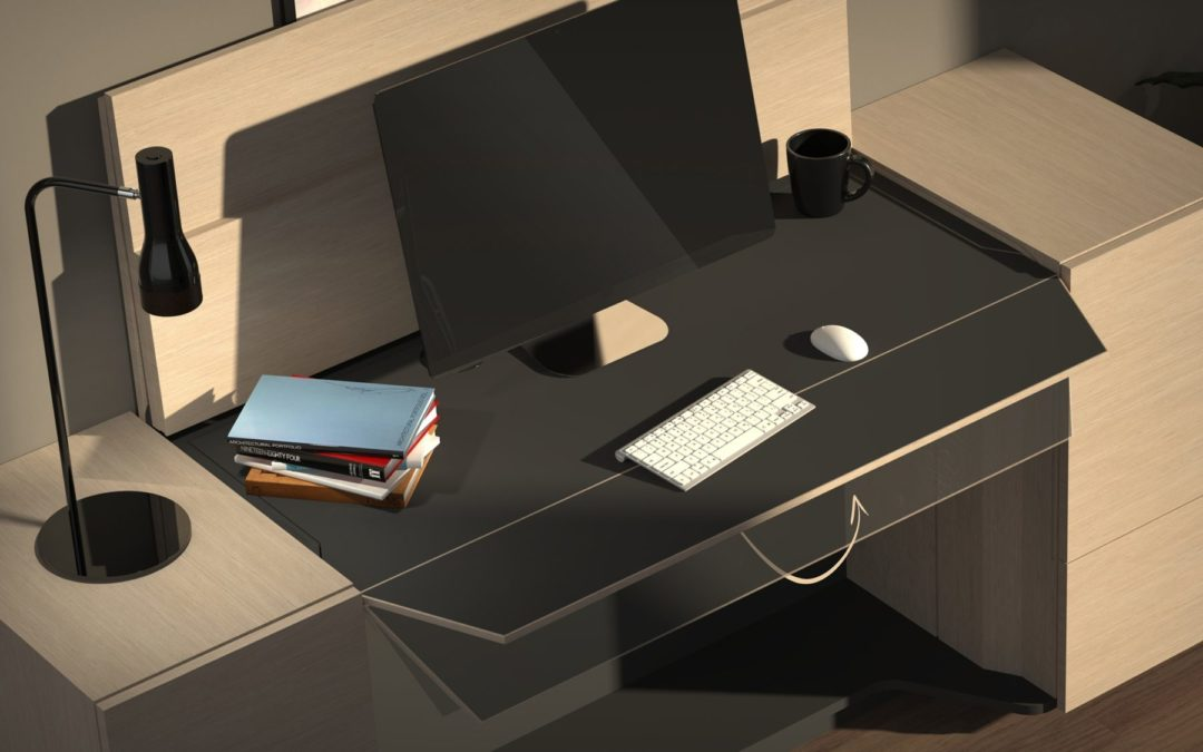 2020 Innovation of the Year: SecretAir – The discrete home office sideboard by Wouter Myny